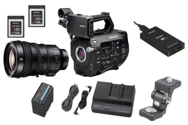 Szybki wynajem profesjonalnego sprzętu do filmowania