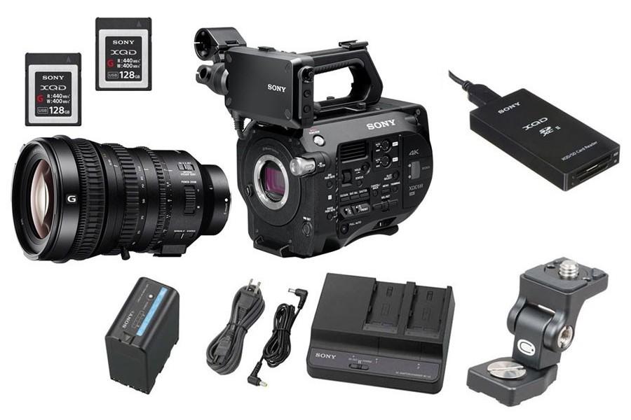 kamery i sprzęt filmowy z wypożyczalni